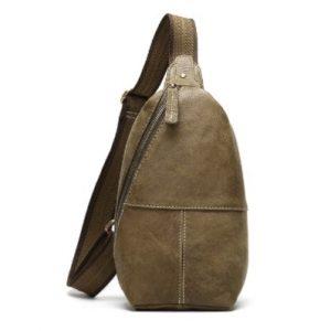 Túi Đeo Chéo Ngực Nam Da Thật BZ35